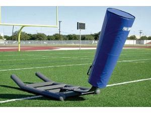 1-Man Blocking Sled w Coach's Platform & Lean Bar