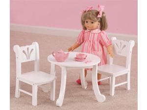 3-Pc Lil Doll Table Set
