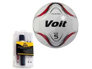 Size 5 Player Soccer Ball with Inflating Kit