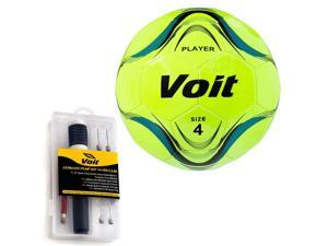 Size 4 Player Soccer Ball with Inflating Kit