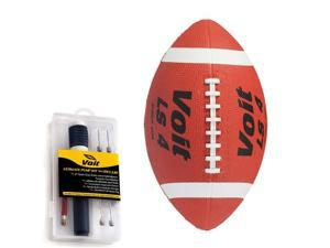 Junior Rubber Football with Inflating Kit