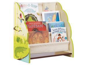 Kids Book Display in Green
