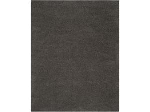 Modern Shag Rug in Dark Grey