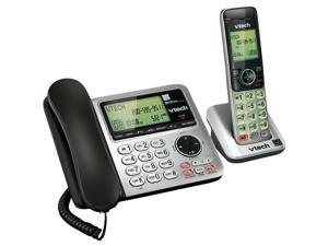 DECT 6 Speakerphone with Corded Base (Single-Handset System)