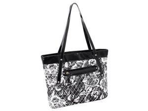 Quilted Carry All Tote in Gray