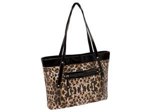 Quilted Carry All Tote in Leopard