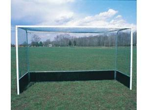 Set of 2 Official Field Hockey Goals with Wood Bottom Boards