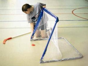 Roller & Street Hockey Fold-Up Goal in Blue & White