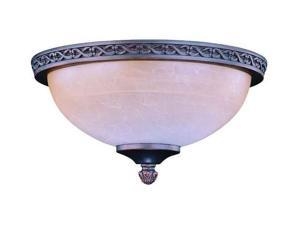 2-Light Die Cast Fixture in Oil Rubbed Bronze Finish