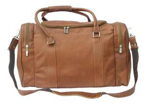 Carry-On Bag w Long Handles in Saddle