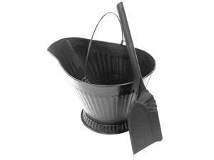 Coal Hod with Shovel