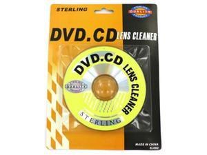 CD and DVD Lens Cleaner - Set of 36