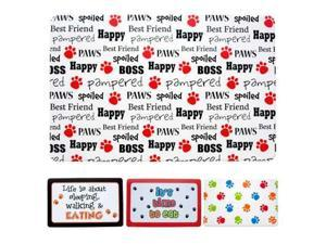 Pet Food Mat - Set of 24