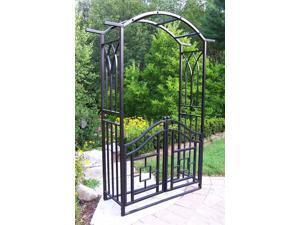 Royal Arbor w Gate in Black - Mississippi
