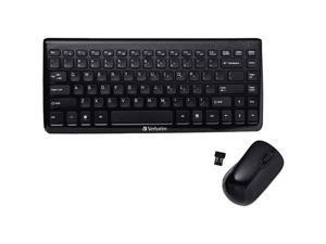 Mini Wireless Slim Keyboard and Mouse