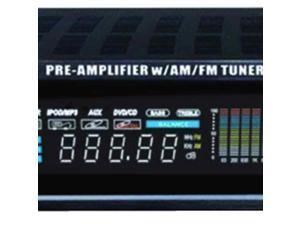 Hybrid Amp and AM/FM Tuner (2,000 Watt)