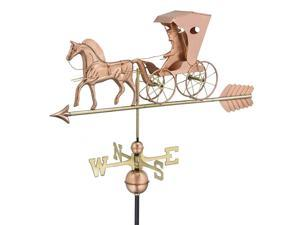 Country Doctor Weathervane with Arrow
