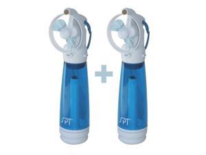Personal Hand-Held Misting Fan - Set of 2