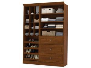 2-Pc Storage Unit Set in Tuscany Brown