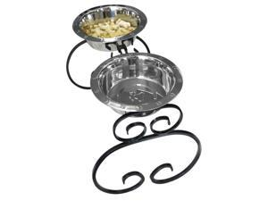 3 Quart 16 in. Tall Elevated Dog Feeder