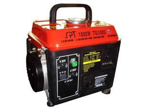 1000W 2.0 HP 1.2 Gal Gasoline Generator w 2 Cycle Gas/Oil Mix