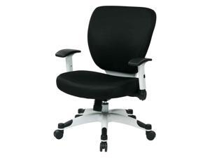 """Deluxe Task Chair 26""""x26-3/4""""x38"""" Black"""