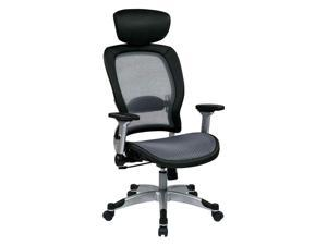 Contemporary Chair with Adjustable Headrest
