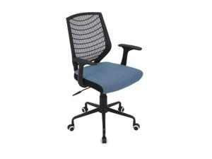 Network Office Chair - Black, Smoked Blue