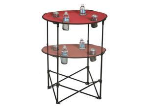 Picnic Plus Scrimmage Tailgate Table Maroon