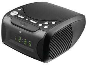 Dual Alarm CD Clock Radio