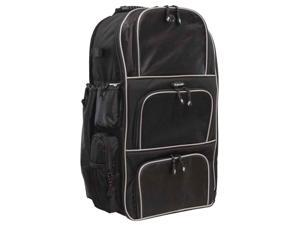 Mobile Edge - Baseball Backpack - Black w/Silver Piping