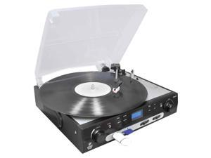USB Turntable with Direct-to-Digital USB/SD Card Encoder