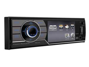 "Power Acoustik  1-DIN Digital Media Receiver w/ 3.4"" LCD & BT"