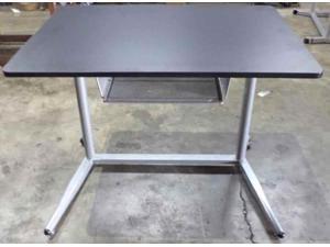 Adjustable Desk in Silver