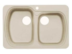 Premium Offset Dual Mount Kitchen Sink