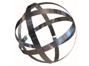 18 in. Stainless Steel Banded Sphere