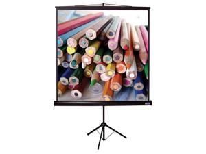 Econopro Tripod Screen T-Series in 1:1 AV Format (84 in. W x 84 in. H)