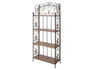 Bakers Rack in Brown