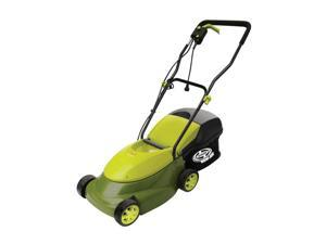 14 in. Electric Lawn Mower in Green and Black