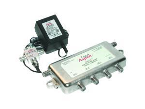 Signal Combiner/Amplified 4-Way Splitter