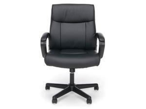 Executive Office Chair with Arms in Black