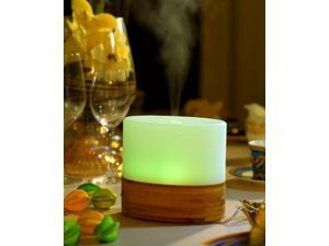Ultrasonic Aroma Diffuser with Bamboo Base