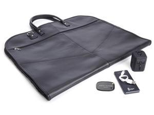 Garment Luxury Travel Bag Set in Black