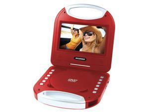 7 in. Portable DVD Player in Red