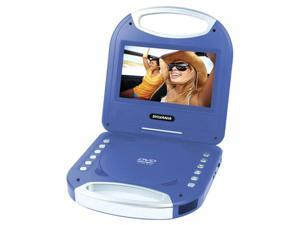 7 in. Portable DVD Player in Blue