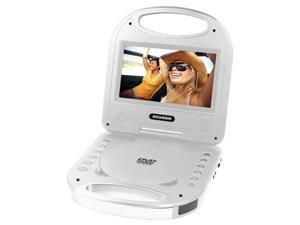 7 in. Portable DVD Player in Silver