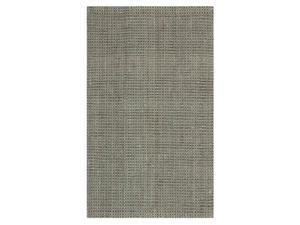 Rectangular Hand Loomed Area Rug in Gray (9 ft. L x 6 ft. W)