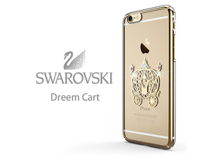 CASECUBE® iPhone Case [Brilliant Color] SWAROVSKI PC Series for Apple iPhone 6/6s - Pumpkin Carriage