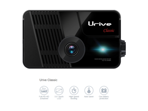 "Urive Classic MD-9300E 2CH Full HD-HD (Front 1080p / Rear 720P), 3.5"" LCD Touch Screen, WDR, MD-9300E Car Dashcam DVR Recorder Blackbox - 16GB"