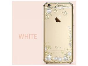 CASECUBE® iPhone 6/6s Case [Secret Garden] SWAROVSKI PC Series for Apple iPhone 6/6s - White